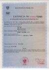 Licencja na wykonywanie KTD
